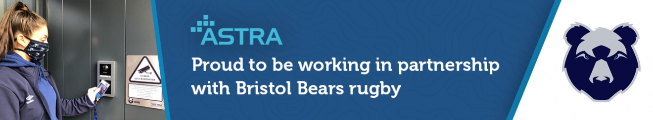 Proud to be working in partnership with Bristol Bears rugby