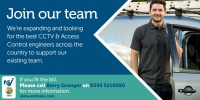 CCTV Engineers Required