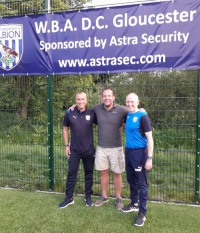 Astra Security at leading edge of technology, supporting elite youth football